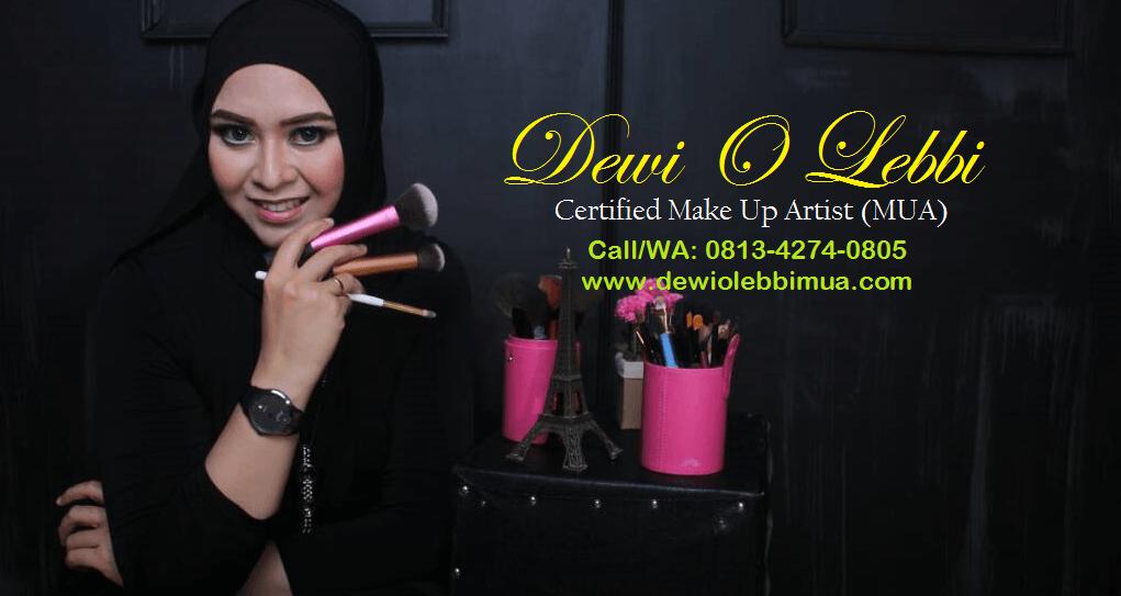 Dewi O Lebbi Certified MUA Makassar
